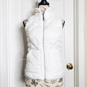 Authentic American Heritage White Puffer Vest